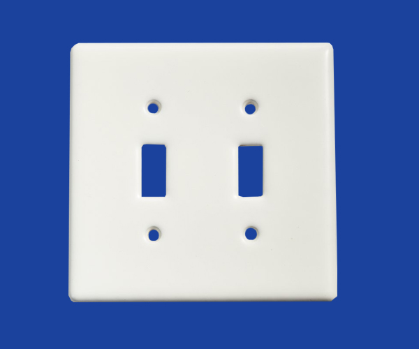 Ceramic switch cover plates with wear / high temperature