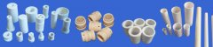 What factors affect the light transmittance of alumina ceramics (tubes, rods)